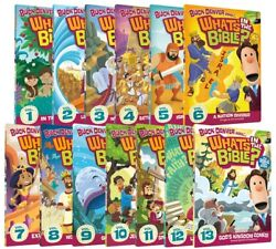 Buck Denver Asks What's In The Bible Complete Series All 1-13 Dvd Set Collection