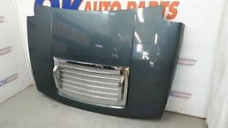 06 Hummer H3 Complete Oem Hood Assembly Slate Blue Metallic With Chrome Trim