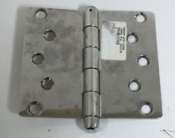 Marine Boat Polished Stainless Steel Transom Gate Door Piano Hinge 3 X 6