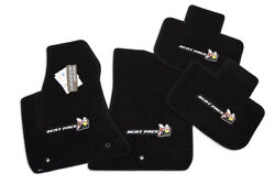 New Dodge Charger Scat Pack Floor Mats 4pc 4 Logos - Ultimat Quality Instock