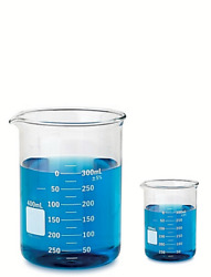 Glass Beakers Graduated Research Grade Low Form Various Size Lowest Price Kits