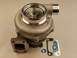 T3 A/r 1.06 4 Bolt Turbine .60 Cold Billet Turbo Charger Gtx3576r Ball Bearing