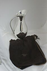 And Co Sterling Silver Faneuil Pattern 3-1/4 Pint Water Pitcher Circa 1955