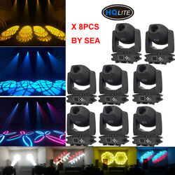 Led 230w Gobo Beam Zoom Moving Head Light Double Prism T5+6 Spot By Sea Ship