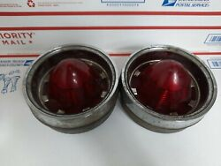 Lot Of 2- 1961 Oldsmobile Tail Light Lens Assembly R Or L Guide R3a-61