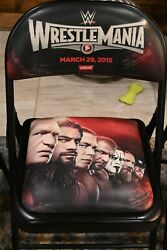 Wrestlemania 31 2015 Event Chair Wwe Wrestling 2014-2019 Available