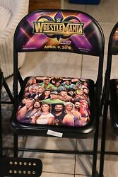 Wrestlemania 34 2018 Event Chair Wwe Wrestling 2014-2019 Available