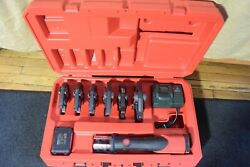 Rothenberger Model Romax 4000 Crimper With 6 Jaws   Ridgid Propress