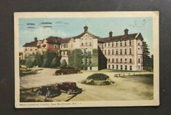 1950 Royal Columbian Hospital New Westminster Bc Canada Picture Postcard Cover
