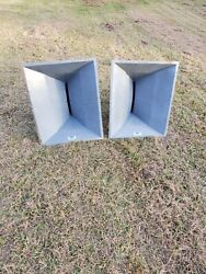 2 Altec Lansing Mr945a Constant Directivity Horns. Events. Sports. Open Field.