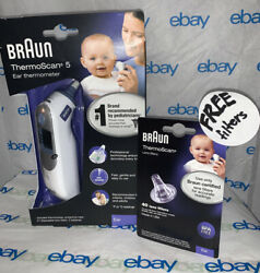 Braun Digital Ear Thermometer ThermoScan 5 IRT6500 Brand New Free Filters