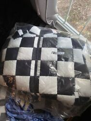 Full Send Checkered Quilt Puffer Jacket - Limited Edition - Read Description