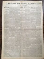 Sitting Bull Is Dead Front Page 1st Report 1890 Newspaper Sioux Indian Old West