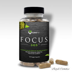 Karamd Focus 365 Improve Memory Focus Concentration Clarity Of Mind And Cognition