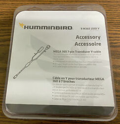 Humminbird 9-m360-2ddi-y Y-cable For M360 With Solix Hw Transducers