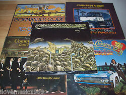 5 Commander Cody Very Good++ Lps 1st Pressings Tales From Ozone/hot Licks/lost