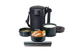 Tiger Thermos Stainless Lunch Box Vacuum Bento Box, Lwu-a172 Japan New