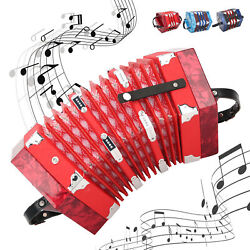 Professional Concertina Accordion With Bag For Adults/ Performance/ Beginners