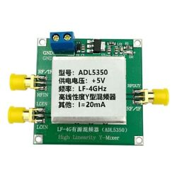 Top Adl5350-evalz High Linearity Mixer Y Type Low Frequency To 4ghz Module Om