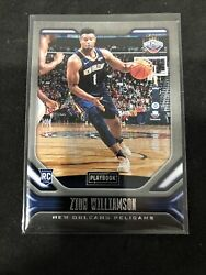 Zion Williamson 2019-20 Chronicles Playbook Rookie Card 169