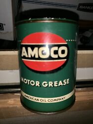 Vintage Amoco 1lb. Can Grease Unopended Full