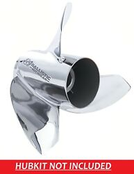 Ballistic Xhs 14 7/8 X 15 933515 Stainless Steel Propeller For Evinrude E-tec G2