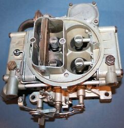 Holley Carburetor List 3419 Chevrolet Chevelle Dated 5a1 3886087 Ej