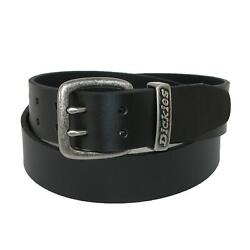 New Men's Leather Two Prong Casual Belt