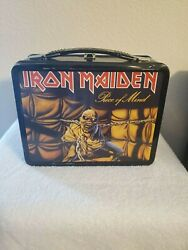 Iron Maiden Piece Of Mind Neca Tin Lunchbox 2 With Thermos