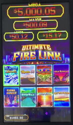 New Release 8in1 Ultimate Fire Link Vertical Cherry Master 8 Liner Pog Vga
