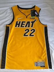 Miami Heat Trophy Gold Jersey Jimmy Butler L Bought In Store 3934/6031