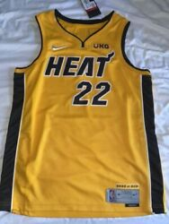 Miami Heat Trophy Gold Jersey Jimmy Butler L Bought In Store 3933/6031