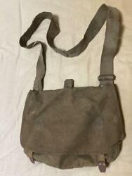 Japanese Army Iron Buckle Miscellaneous Sac Shoulder Bag Military Antique Japan