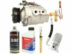 Front And Rear A/c Compressor Kit For 2003-2006 Chevy Trailblazer Ext M442kr
