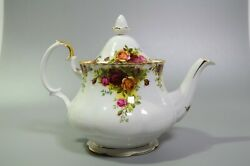 Royal Albert Old Country Roses Teapot Large 7 With Lid English Bone China