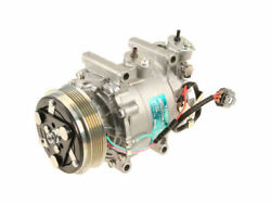 A/c Compressor For 2007-2008 Honda Fit N965zt New W/ Clutch 3-wire Connector