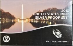 2013 San Francisco Silver 14 Coin Proof Set. Original From The U.s. Mint 4517