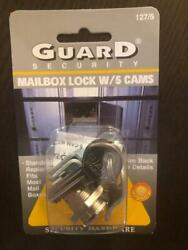Guard Security Universal Mailbox Lock W/5 Cams Fits Most Mail Boxes.