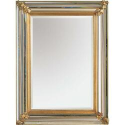 Maitland Smith Mirrored Multi Faceted Bordered