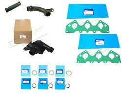 Land Rover Freelander 1 2002-05 2.5l V6 Thermostat And Hose Pipes With Gaskets Kit