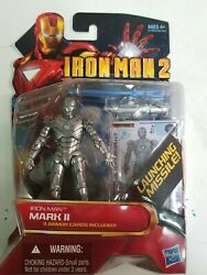 Iron Man 2 Movie Series_iron Man Mark Ii 3 Andfrac34 Figure With Launching Missile_mip