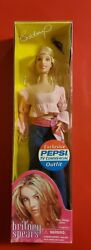 Britney Spears Play Along Doll Pink And Blue Jeans Pepsi Commercial Outfit Nrfb