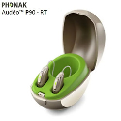 2 Brand New Phonak Audeo Paradise P30-rt Hearing Aids + Free Mini Charger