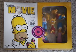 The Simpsons Movie With Exclusive Family Figurines Dvd New And Sealed