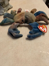 Claude The Crab Beanie Baby Ty 1996 Mint Condition Never Used