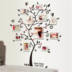 Family Photo Frame Tree Wall Sticker Home Decor Living Room Bedroom Wall Decals