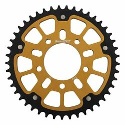 New Supersprox Stealth Sprocket, 45t For Marvic 525 Pitch 5 Bolts 00, Gold