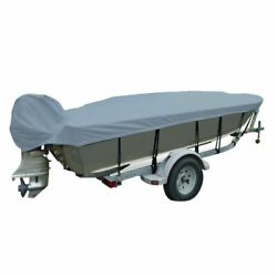Carver 71222p-10 22and0395 L X 102 W Boat Cover For V-hull Fishing Boat New