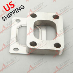 Us. Stainless Steel Turbo Charger Manifold Flange And Gasket Kit For T25 T28 Turbo