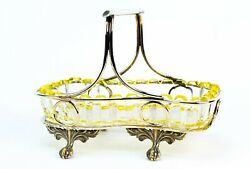Small Serving Bowl Silver Plated Early 1900s